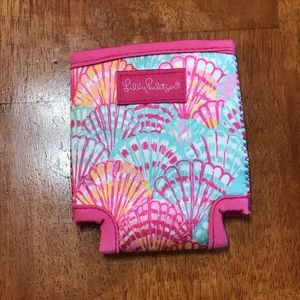 Lily Pulitzer koozie, NEVER USED